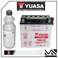 BATTERIA YUASA YB9-B 12V9AH PIAGGIO 150 LIBERTY ANNI 2000 2001 2002 2003