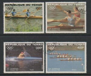Chad - 1984, Luft Olympische Spiele, Los Angeles Set - F/U - Sg 735/8 (D)