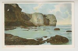 Cornwall postcard - Perranporth, Tower Rocks - Peacock No. 2454 (A2017)