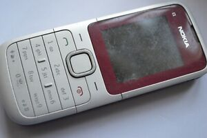Nokia C1-01 - Red (Vodafone) Mobile Phone