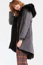Urban Outfitters Silence + Noise Faux Fur Lined Parka-XS-$229 MSRP