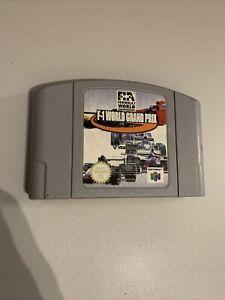 F-1 World Grand Prix Nintendo 64 N64 CARTRIDGE ONLY