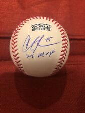Steve Pearce Signed Autographed 2018 World Series Baseball MVP Inscrip. Red Sox