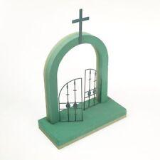 Gates of Heaven Wet Foam OASIS® FOAM FRAMES® Funeral Memorial Tribute 8272