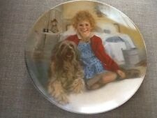 Vtg 1982 Knowles Ltd. Edition Collector Plate Annie and Sandy First Issue G2958