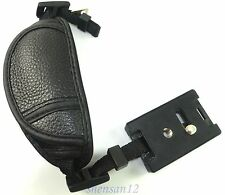 Genuine Leather Camera Hand Wrist Strap grip for Canon Nikon Sony Olympus DSLR