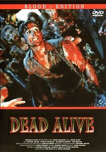 Braindead , Dead Alive , Blood Edition , uncut ,english & german ,Peter Jackson
