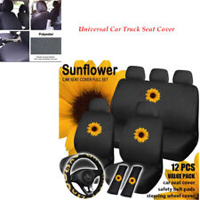 12PCS Universal Car Auto Truck Seat Cover Cotton Cushion Protector Breathable