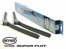 SUBARU TRIBECA 2005-2015 flat windscreen WIPER BLADES 26''20'' LARGE HOOK ARM