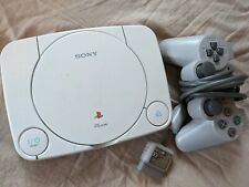 Sony PlayStation One Slim [PSOne] + Video & Power Cables & DualShock Controller