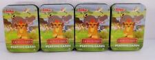The Lion Guard Playing Cards 52 Card Deck Tin Case X 4 = 4 Decks