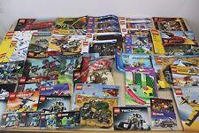 Lego Legos Instruction Book Manual Lot 40 Instructions Books Manuals Cars City +