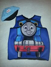 sz 4 - 6 Thomas the Tank Engine Pullover Costume + hat boys halloween