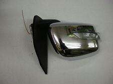 Espejo De Puerta Manual Cromo R/H O/S L.E.D indicador para Nissan Navara D40 2.5 05 > +