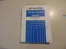 Engine Work shop repair manual Toyota SUPRA JZA80 05.1993 Reparaturanleitung