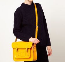 "13"" Classic Satchel Yellow  Bag"