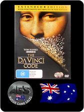 The Da Vinci Code - Extended Edition -  Tom Hanks (DVD, VGC, FAST POST)