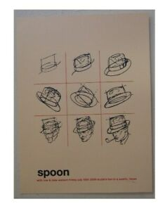 Spoon Silkscreen Printed Poster