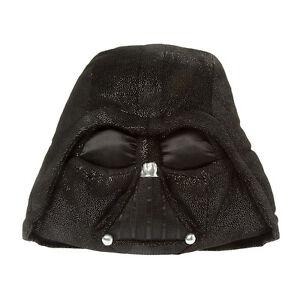 Disney Star Wars Darth Vader Pillow 15 inch Plush Pillow Sparkly Black NWT