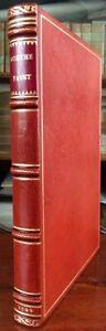 PRESSENDRUCK 1922: Goethe FAUST ERNST-LUDWIG-PRESSE KLEUKENS BÜTTEN HANDEINBAND