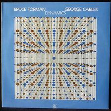 "Bruce Forman & George Cables : ""Dynamics"" Concord jazz CJ 229 LP NM-, CV NM"