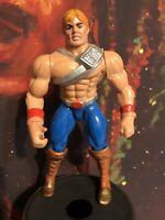 Vintage Mattel MOTU New Adventures of He Man Action Figure Battle Punch He Man