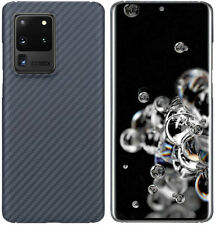For Samsung Galaxy S20+ S20 Ultra Carbon Fiber Shockproof Case Protector Cover