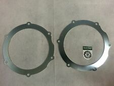 BEARMACH LAND ROVER DISCOVERY FRONT AXLE SWIVEL SEAL RETAINING PLATES x2 571755