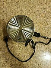 West Bend Hot Plate/Heat-Rite Electric Crockery Bean Pot Base w/Cord & Plug