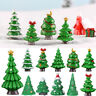 Garden Miniature Plant Christmas Decorations Home Decor Xmas Tree Figurines