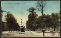 Southampton. Tram in the Avenue. Unused Vintage Postcard by J. Welch & Son