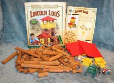 HasbroThe Original Lincoln Logs Frontier Junction Building Complete Set 2006