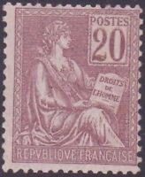 """FRANCE STAMP TIMBRE N°113 """" TYPE MOUCHON 20c 1900 """" NEUF xx TB"""