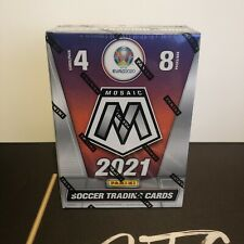 More details for 2021 panini mosaic euro2020 soccer sealed blaster box in hand