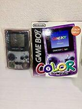 RARE Gameboy Color Console  Purple  Japan COLLECTORS ITEM New