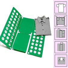 Clothes T Shirt Top Folder Folding Board Flip Fold Adult Laundry Organizer CA