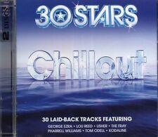 30 Stars Chillout (2 x CD) George Ezra/Lou Reed/The Fray/Aaliyah/Raphael Saadiq