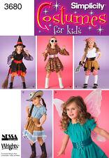 Child Female Costume/Fancy Dress Sewing Patterns