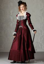 1800s custom handmade steam punk victorian gown