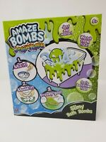 Green Jelly SLIME Bath Bomb Making Kit Children Make Your Own Science Gift Set