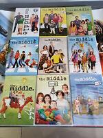 The Middle Season Seasons 1-9 Complete Series DVD Bundle 1 2 3 4 5 6 7 8 9 New!