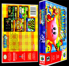 Kirby The Crystal Shards - N64 Reproduction Art Case/Box No Game.