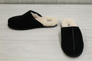 Ugg Scuff Suede Slippers, Men's Size 12, Black MSRP $80