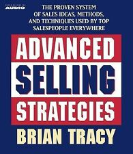 2 CD  Advanced Selling Strategies Brian Tracy (Nightingale Conant)