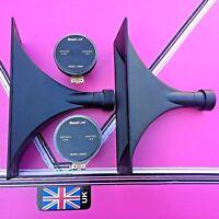(pair) dynamic horn tweeters 10x4 actual size 270mm x 100mm disco pa speakers