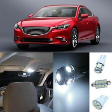 Deluxe Xenon White Light SMD Interior LED Package Kit For Mazda 6 2014-2016