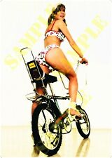 Reproduction Raleigh Chopper Pin Up Poster Girl A2 A3 A4 Vintage Cycles Bike
