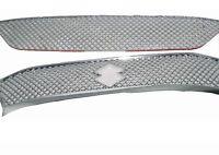 Suzuki Celerio obere und untere Vorder Kühlergrill Panel-Set Chrom-Ineinander gr