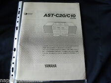 Yamaha AST-C20/C10 Owner's Manual  Operating Instruction Japan language