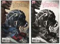 Venom 4 Marvel Now 2017 NM Gabriele Dell'Otto Color B&W Set Variant Spider-Man